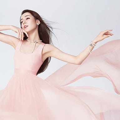 MIKIMOTO宣佈迪麗熱巴繼續擔任品牌亞洲代言人