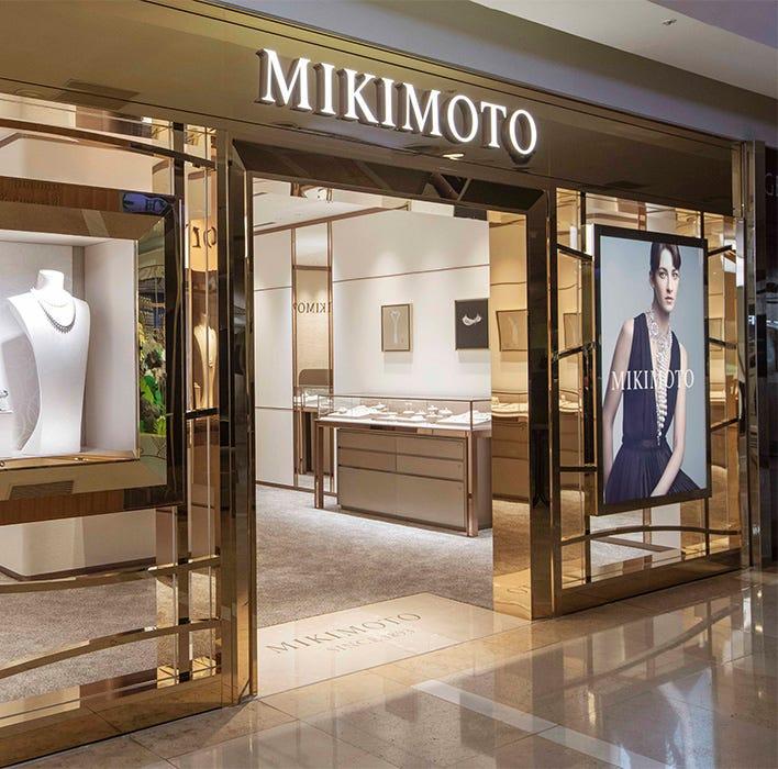 MIKIMOTO台中新光三越精品店改裝新開幕