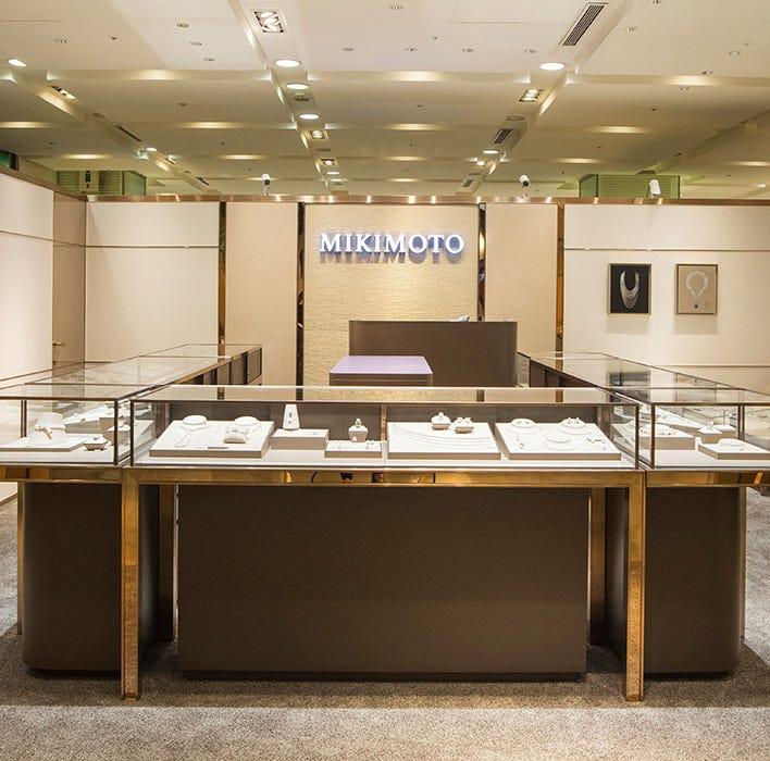 MIKIMOTO台南新光三越西門店改裝新面貌