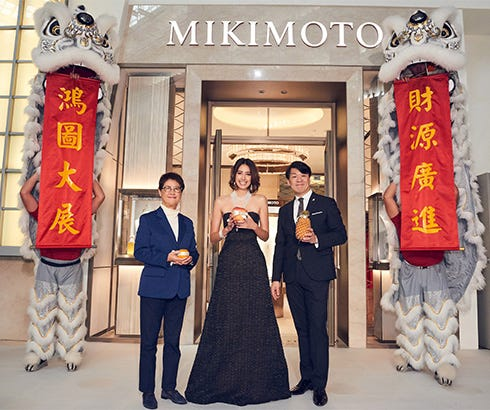 MIKIMOTO台北101頂級珠寶旗艦店全新開幕